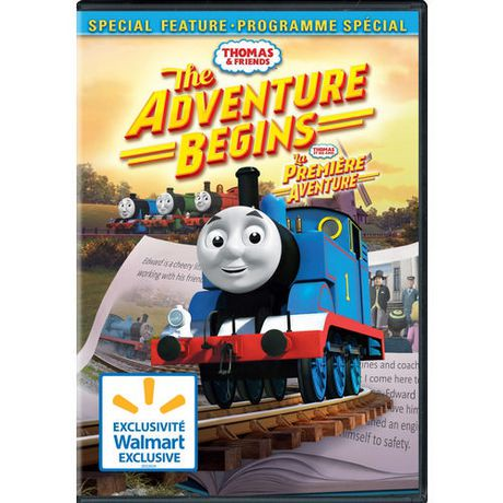 Thomas Amp Friends The Adventure Begins Walmart Exclusive
