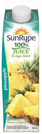 SunRype No Sugar Added Pineapple 100% Juice - image 1 of 2