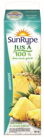 SunRype No Sugar Added Pineapple 100% Juice - image 2 of 2