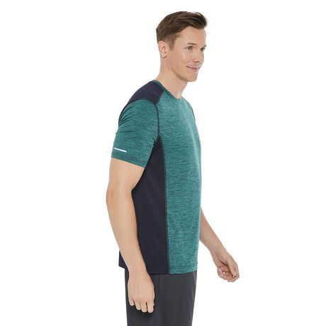 Athletic Works Men's Colour Block Tee - image 2 of 6