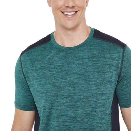 Athletic Works Men's Colour Block Tee - image 4 of 6
