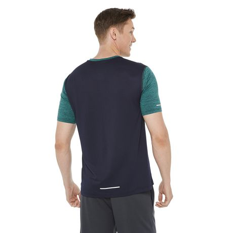 Athletic Works Men's Colour Block Tee - image 3 of 6