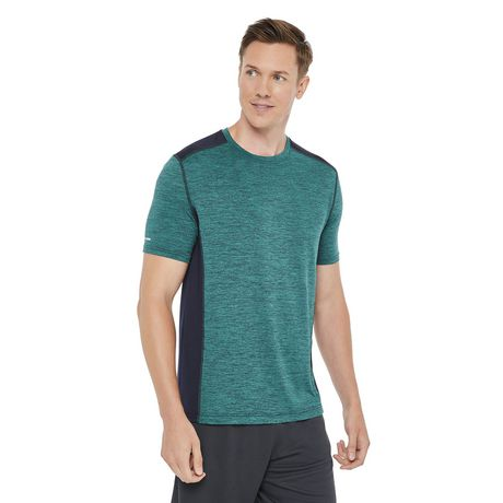 Athletic Works Men's Colour Block Tee - image 1 of 6