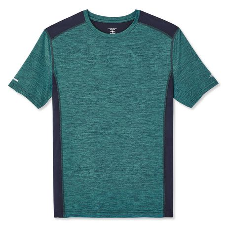 Athletic Works Men's Colour Block Tee - image 6 of 6