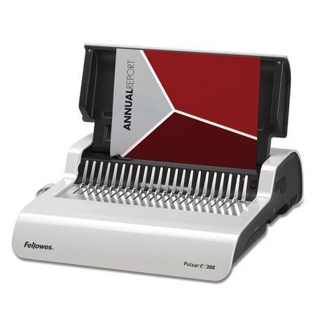 Fellowes Pulsar E 300 Electric Comb Binding Machine W
