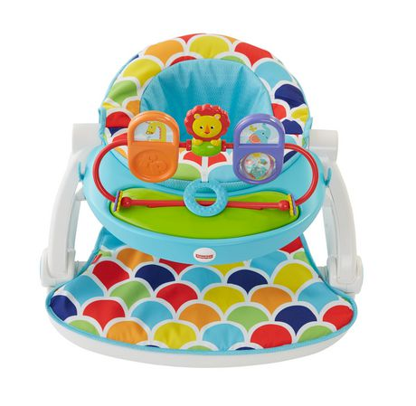 Fisher Price Sit Me Up Floor Seat With Toy Tray Walmart Canada