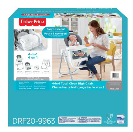 Fisher-Price 4-in-1 Total Clean High Chair - image 9 of 9