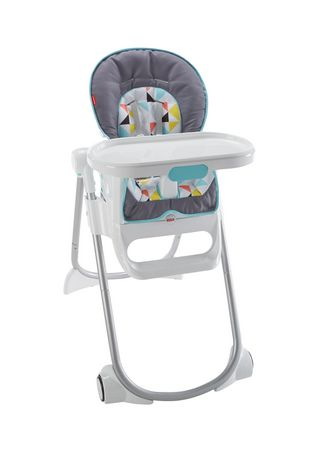 Fisher price chaise haute nettoyage facile 4 en 1 for Chaise haute fisher price