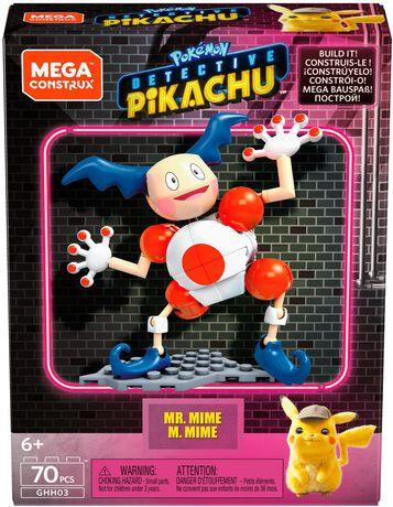 Mega Construx Detective Pikachu Mr. Mime - image 1 of 3