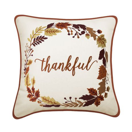 hometrends Welcome Decorative Cushion - image 1 of 2
