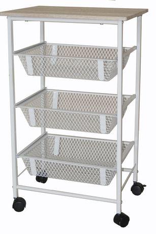 Mainstays Rolling Storage Cart  sc 1 st  Walmart Canada & Mainstays Rolling Storage Cart | Walmart Canada