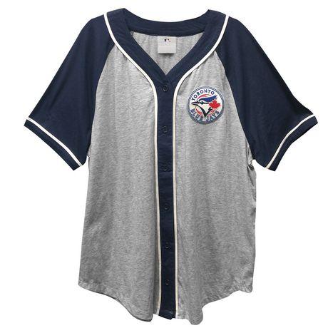 Toronto Blue Jays Blue Jays Ladies plus Size Baseball Jersey