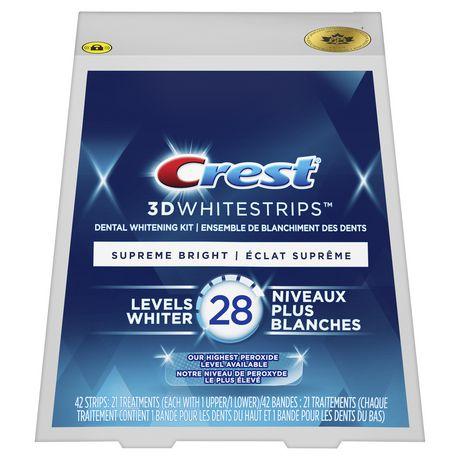 crest supreme flexfit whitestrips