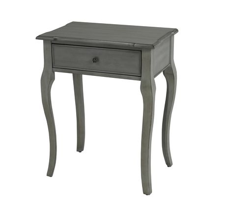 Brassex Inc Brassex Accent Table with Storage - image 1 of 1