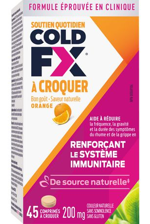 COLD-FX® Daily Support Orange Chewable - image 4 of 4