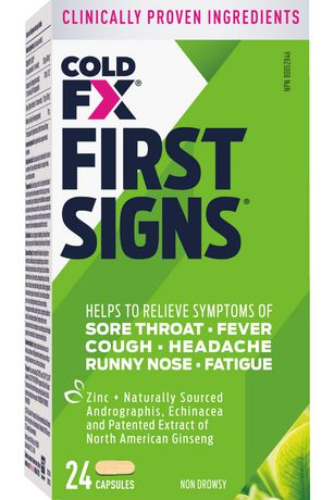 COLD-FX® First Signs - image 1 of 2