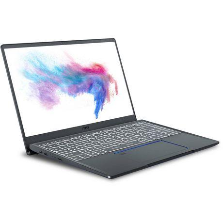 "MSI Prestige 14 14"" FHD Ultra Thin and Light Professional Laptop Intel Core i7-10710U PRESTIGE 14 A10SC-254CA - image 1 of 9"