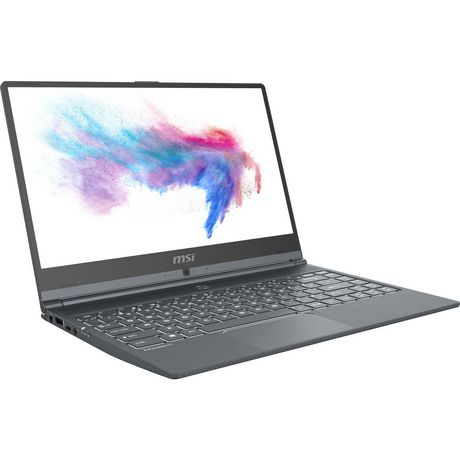 "MSI Modern 14 14"" Ultra Thin and Light Professional Laptop Intel Core i7-10510U MODERN 14 A10RAS-1054CA - image 1 of 9"