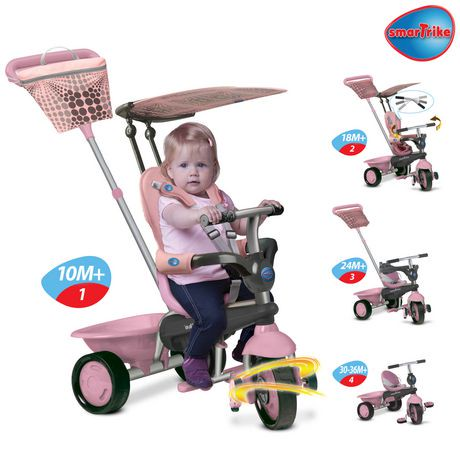 Smart Trike Girls\' Galah 3-in-1 Tricycle | Walmart Canada