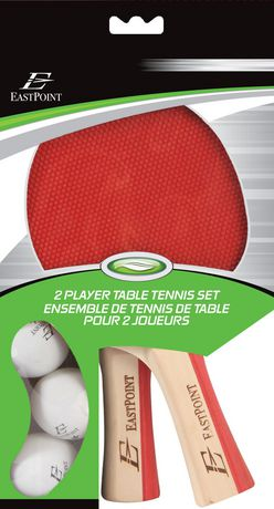 2 Player Table Tennis Paddle and Ball Set : table tennis set walmart - pezcame.com