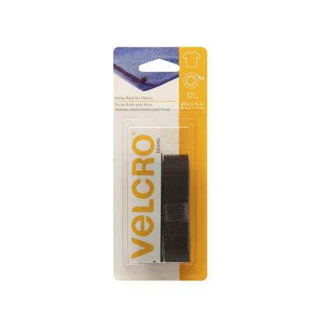 velcro sticky back for fabrics black tape walmart canada. Black Bedroom Furniture Sets. Home Design Ideas