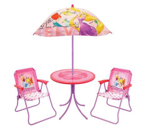 Kids Patio Furniture.Disney Princess Kids Only Patio Set
