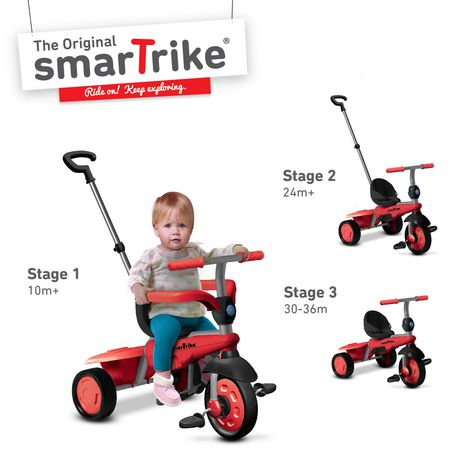 f7adee52946 Smart Trike Breeze 3-in-1 Tricycle - image 1 of 4 ...