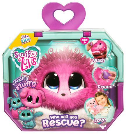 Little Live Pets Little Live Scruff A Luv's - Pink - image 1 of 6