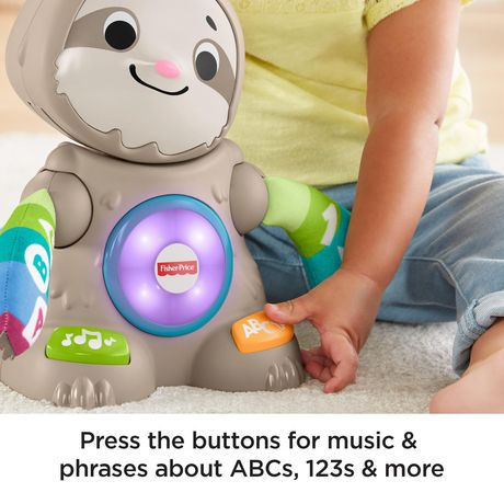 Fisher Price Linkimals Smooth Moves Sloth - English - image 3 of 5