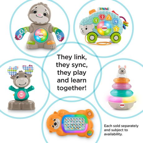 Fisher Price Linkimals Smooth Moves Sloth - English - image 5 of 5