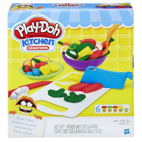 Play Doh Kitchen Creations Shape N Slice Walmart Canada