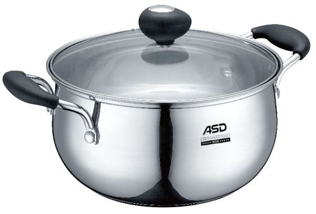 ASD Stainless Steel Casserole - image 1 of 1