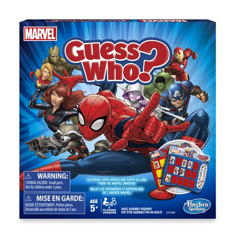 Guess Who! Guess Who? Game: Marvel Edition | Walmart Canada