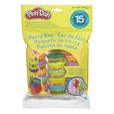 Play-Doh Cans & Stickers Party Bag - image 1 of 2