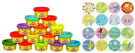 Play-Doh Cans & Stickers Party Bag - image 2 of 2