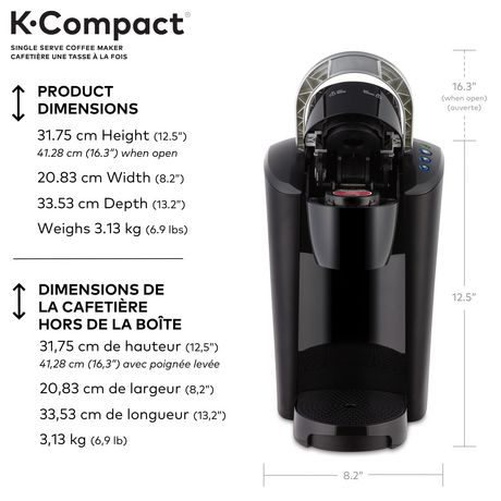 keurig® k-compact classic brewing system | walmart canada