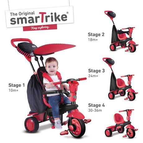 Smart Trike Spark 4-in-1 Tricycle | Walmart Canada