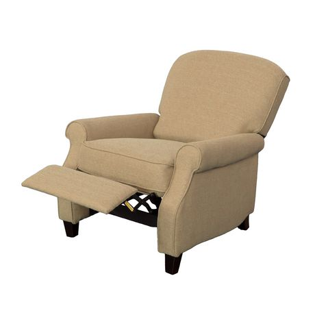 CorLiving Noah Linen Fabric Recliner - image 3 of 6
