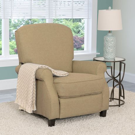 CorLiving Noah Linen Fabric Recliner - image 4 of 6