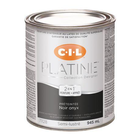 CIL(MD) PLATINE(MD) Peinture d'intérieur préteintée en format d'essai Noir onyx – 945 ml - image 3 de 3