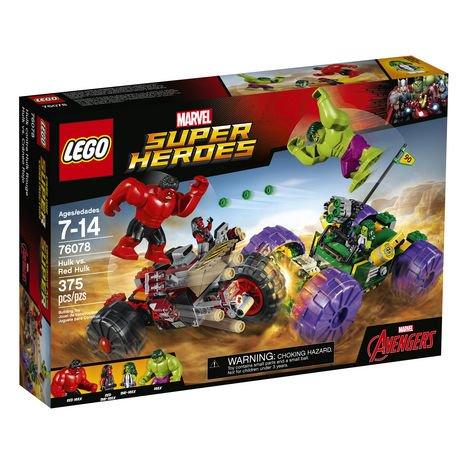 LEGO Super Heroes Hulk vs. Red Hulk (76078) | Walmart Canada