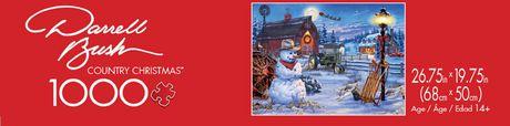 Buffalo Games Darrell Bush Le puzzle Country Christmas en 1000 pièces - image 3 de 3