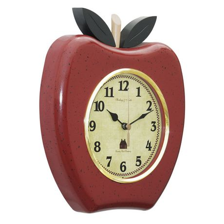 Sterling Amp Noble Apple Wall Clock Walmart Canada