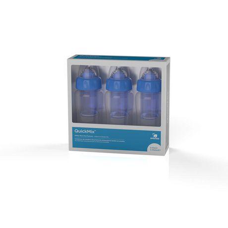 QuickMix 8 Oz Baby Bottles - image 1 of 3