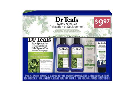 Dr Teal's Eucalyptus Regimen 5pc Gift Set