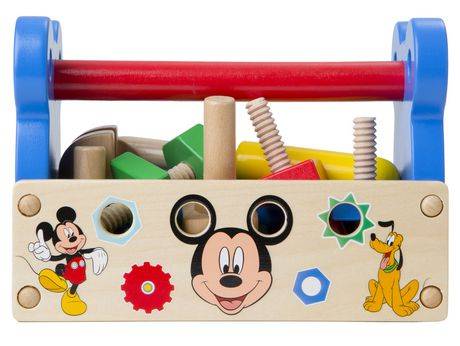 melissa & doug mickey mouse clubhouse wooden tool kit | walmart canada