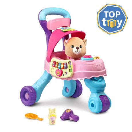 V Tech® Cutie Paws Puppy Stroller™   English Version   Walmart Exclusive by V Tech