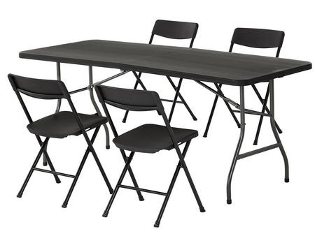Table pliante 6 39 cosco walmart canada for Table pliante walmart