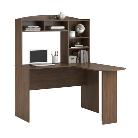 bureau en l benjamin avec huche de dorel. Black Bedroom Furniture Sets. Home Design Ideas