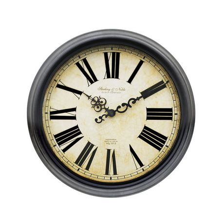 Sterling Amp Noble Old World Wall Clock Walmart Canada